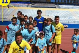 Éxito del II Campus de Fútbol de Verano Valsequillo 2014