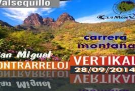 III Carrera de Montaña VERTIKAL San Miguel 2014