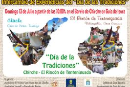 Encuentro de el «Día de las Tradiciones» en Chirche de la Asociación Juvenil La Parada del Rincón de Tenteniguada