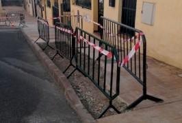 El Ayuntamiento de Valsequillo acomete la reparación de aceras en el municipio