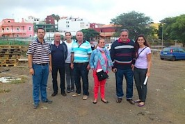 Francisco Santana y el PP local visitan varias explotaciones del municipio