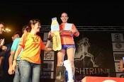 La valsequillera Bárbara González consigue un meritorio segundo puesto en la LPA NIGHT RUN