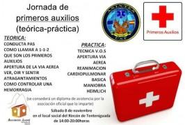 El PP de Valsequillo participa en el primer taller formativo de primeros auxilios en el Rincón de Tenteniguada