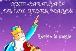 Cartel Oficial de la XXIII Cabalgata de los Reyes Magos en Tenteniguada.