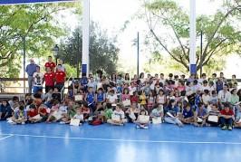 Inauguración de los Juegos Escolares Municipales