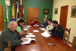 Valsequillo firma convenios de colaboración con todos los clubes deportivos del municipio
