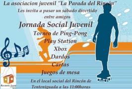 ¡Hoy SÁBADO! la Asociación La Parada del Rincón organiza una jornada de actividades para pasar una mañana divertida.