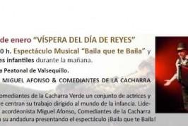 ¡Hoy Víspera de Reyes! consulta el programa de actividades.