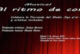 La Parranda del Medio Jigo p'al Kilo presenta el musical «Al ritmo de corazón» el sábado 7 de febrero