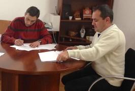 El Ayuntamiento de Valsequillo y la Asociación Empresarial El Tajinaste Azul firman un convenio de colaboración