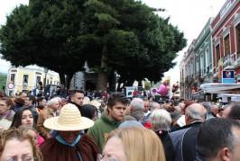 Valsequillo pone el cartel de «COMPLETO» en el día grande del Almendrero en Flor 2015