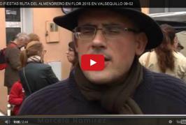 Éxito de la Ruta del Almendrero en Flor 2015 en Valsequillo.