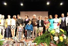 La familia de «Los Chanas» emocionan con su pregón a un público entregado en Valsequillo