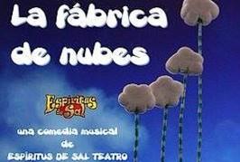 Hoy miércoles a las 18:00h. teatro Infantil «La Fábrica de Nubes» y 20:30h. Presentación del libro «Hablando en Cristiano» y teatro costumbrista.