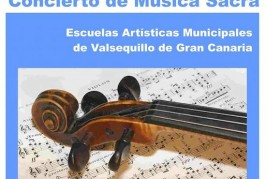 Las Escuelas Artísticas Municipales ofrecen un concierto de Música Sacra