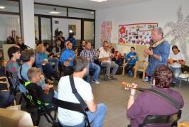 Domingo Rodríguez «El Colorao» comienza un curso de timple en Valsequillo
