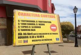 Asfaltado de calles en Valsequillo el lunes 6 de abril