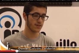 Daniel Galván Calderín, alumno del IES Valsequillo participa en un programa de excelencia.