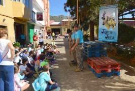 Casi 600 niños han disfrutado del II Encuentro de Deportes y Juegos Autóctonos en Valsequillo