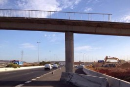 Cierre al tráfico de la GC-1 (Las Palmas-Sur)