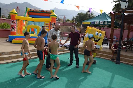 Fiesta del Agua Piscina 3w