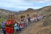 El Valle de San Roque vive el día grande de sus fiestas acompañado de numerosos vecinos