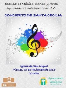 CARTEL Concierto Sta. Cecilia 1w