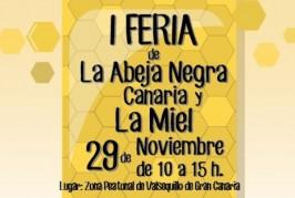 Celebración de la I Feria de la Abeja Negra Canaria y la Miel (Domingo 29 de Noviembre)