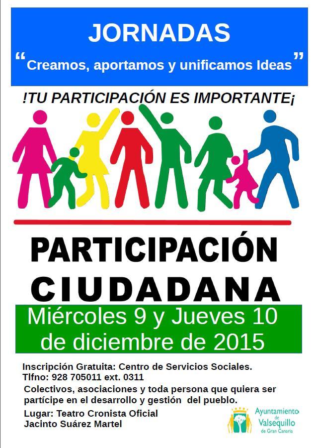 Valsequillo organiza unas jornadas gratuitas de Participación ...