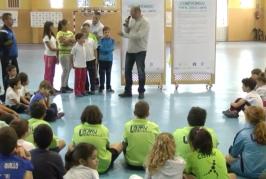Inauguración de los Juegos Escolares Municipales en Valsequillo.