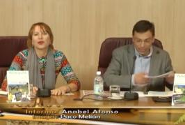 Rueda de prensa en el Cabildo de la presentación de Las Fiestas del Almendrero 2016 de Valsequillo.