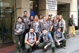 Los alumnos del PFAE de Turismo en Valsequillo continúan con su formación