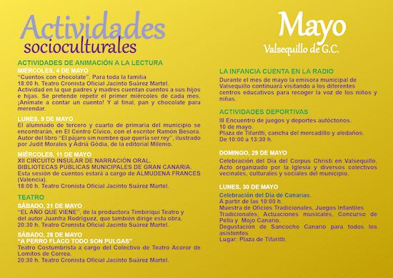 Activ. culturales mayo 2w