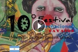 10ª edición Festival Internacional de Payasos «3 Días de Farándula» en Valsequillo del 31 de agosto al 5 de septiembre.
