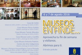 Fin de semana de puertas abiertas en los museos del Cabildo de Gran Canaria