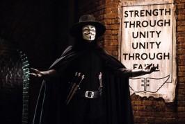 La Biblioteca Insular proyecta el filme 'V de Vendetta', dentro del ciclo 'La literatura en el cine'