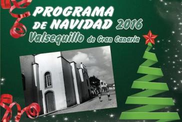 Consulte el programa completo de Navidad 2016 en Valsequillo de Gran Canaria