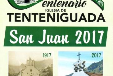 Consulte el Programa de Actos de las Fiestas de San Juan Bautista 2017 en Tenteniguada