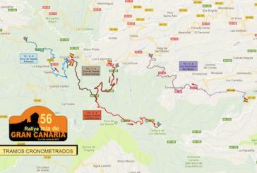Consulte el cierre de carreteras en Valsequillo el sábado 3 de junio debido al 56º Rallye Isla de Gran Canaria