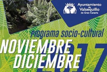 Consulte el Programa Socio-Cultural de Noviembre y Diciembre 2017 en Valsequillo de Gran Canaria