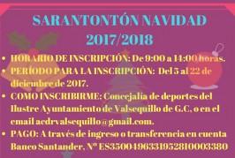 """Valsequillo pone en marcha el """"Sarantontón de Navidad"""" para los más pequeños"""
