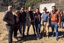 """La Caldera de los Marteles, en Valsequillo, ha sido escenario de rodaje de la comedia española """"¿Qué te juegas?"""""""