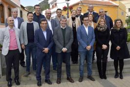 Francisco Atta presenta al Presidente del Gobierno de Canarias varios proyectos para el impulso estratégico de Valsequillo