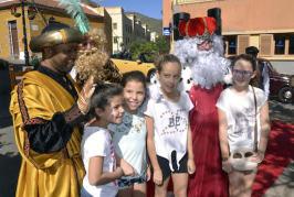 Los Reyes Magos de Oriente recibieron una calurosa acogida en Valsequillo