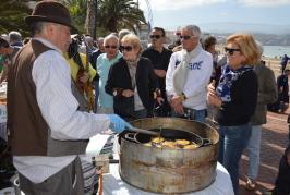 Valsequillo lleva la Fiesta del Almendrero a Las Canteras y otorga las Almendras de Plata