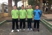 Los juveniles del Club Lomitos de Correa de Valsequillo se proclamaron subcampeones de la Liga Insular de Petanca de Gran Canaria