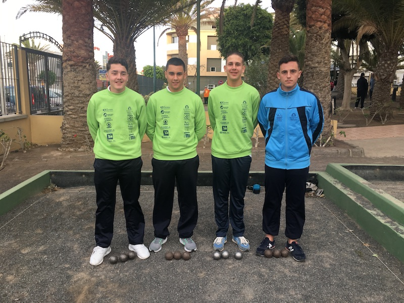 Equipo Juvenil Petanca 2018 1w 800p