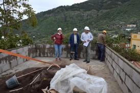 """El complejo insular turístico """"Casa del Senderista"""" comienza a coger forma en Valsequillo"""