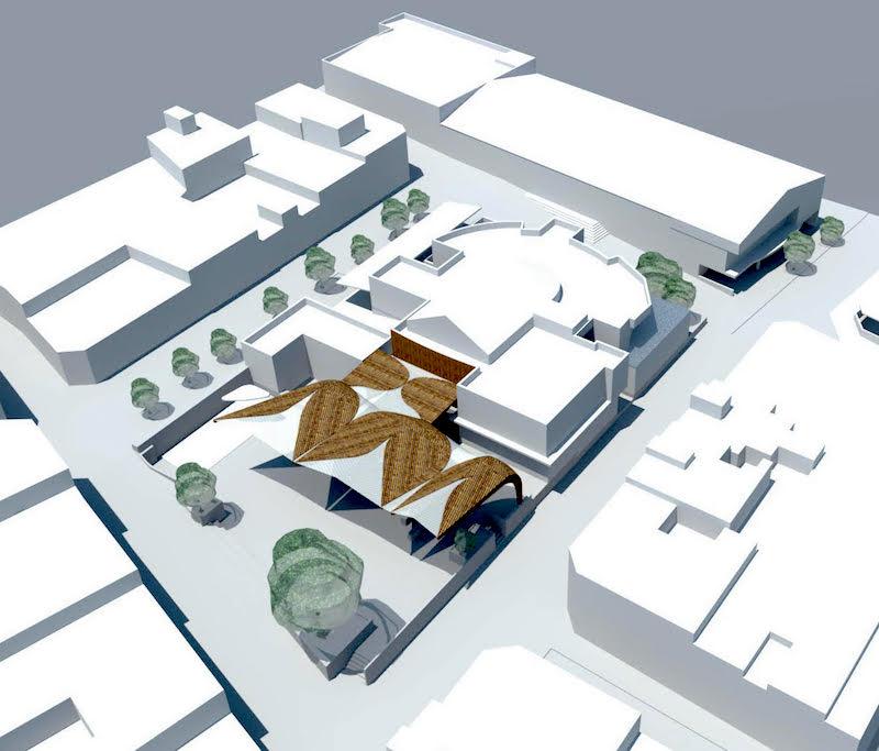 proyecto cubrición plaza tifariti 3w