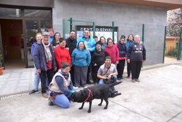 Valsequillo renueva un programa de atención asistida con perros para el Centro Ocupacional